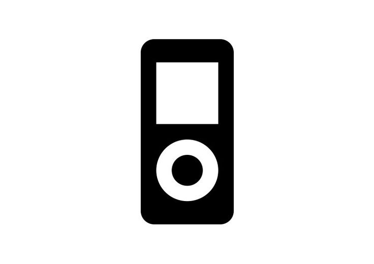 iPod Free Vector Icon