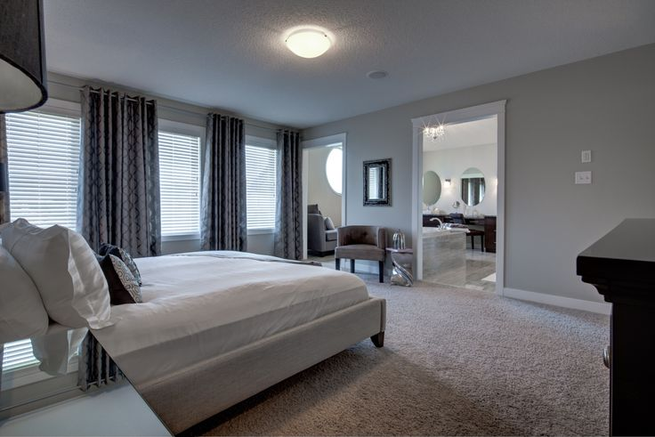 The master bedroom (AKA owner's suite) is amazing and the three large windows lining one wall bring in all the natural light!