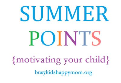 Ideas for your summer that include school skills, life skills, and fun! Start your planning now!