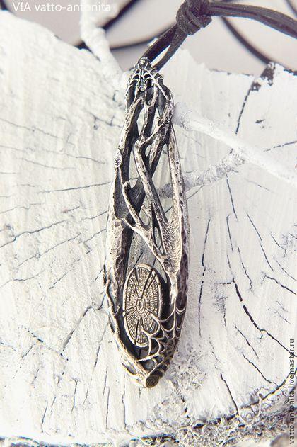 Кулоны, подвески ручной работы. кулон из серебра Лес. Анна Кирьянова. Интернет-магазин Ярмарка Мастеров. Ветви, серебро