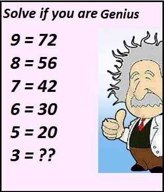 Good morning friends...  Solve If You are Genius... #puzzle