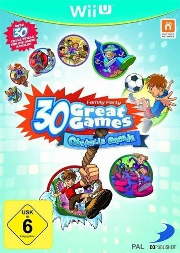 #Nintendo wii u game - family #party 30 #great games: obstacle arcade (boxed),  View more on the LINK: http://www.zeppy.io/product/gb/2/371850502704/