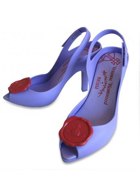 the start of the love affair. Vivienne Westwood x Melissa dragon lady