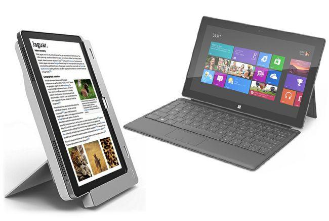 """Los """"amigos"""" de Microsoft responden a Surface: Acer dice que solo pretende animarlos http://www.xataka.com/p/92979"""