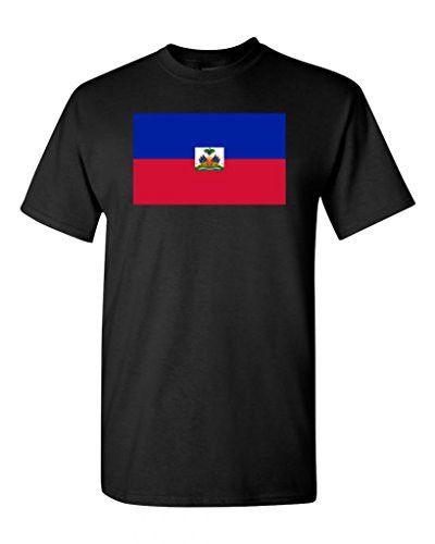Haiti Country Flag Men's T-Shirt