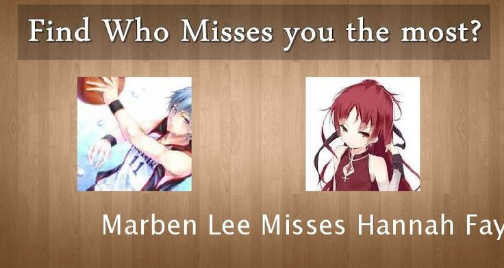 Check my results of Find who Misses you the most Facebook Fun App by clicking Visit Site button