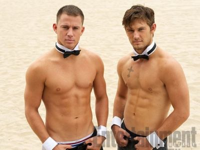"""""""Magic Mike"""" What makes it hotter is that Channing Tatum was a Male Stripper before hitting it big on the big screen!"""