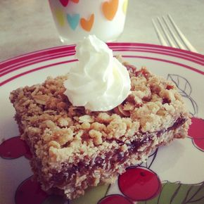 Quaker Oats Recipes - Strawberry Oat Squares