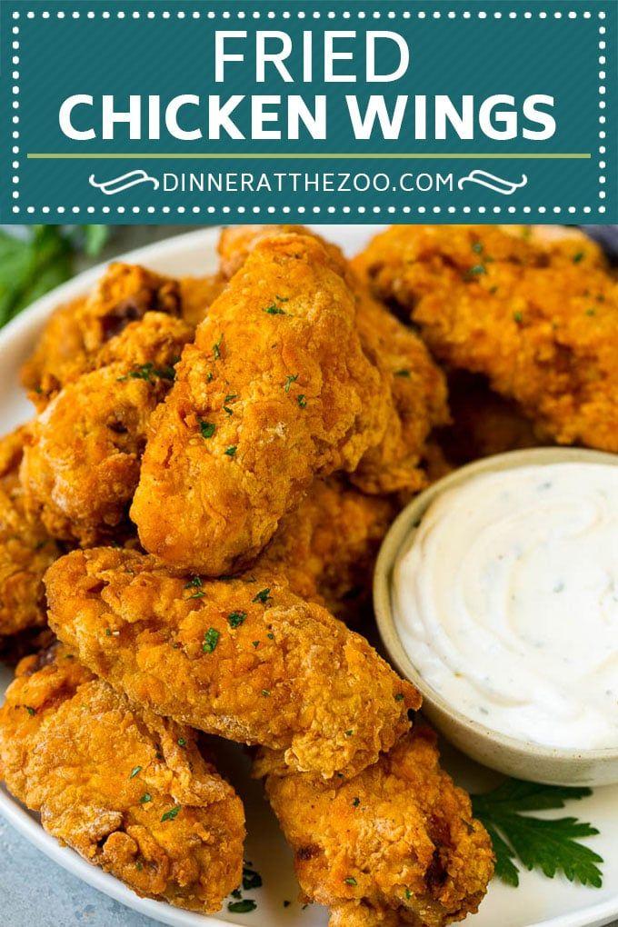 Fried Chicken Wings Recipe Chicken Wings Chicken Chickenwings Appetizer Snack Dinne Fried Chicken Wings Chicken Wing Recipes Fried Great Chicken Recipes