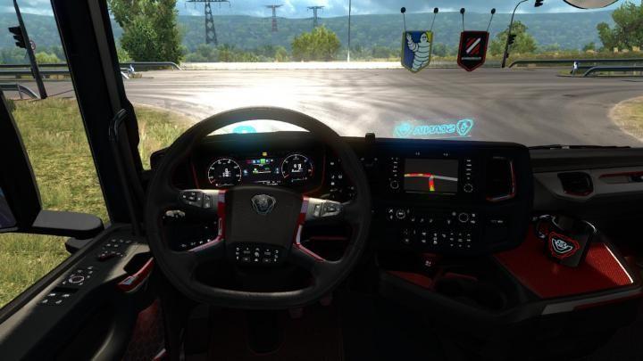 ETS2 - Platinium Interior For Scania Next Generation (High