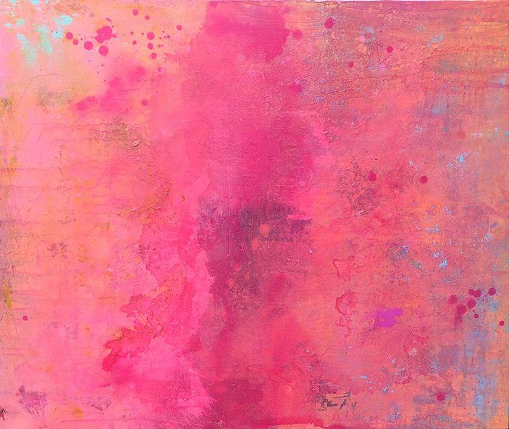 LOVE abstract art by Agnieszka C. Niezgoda
