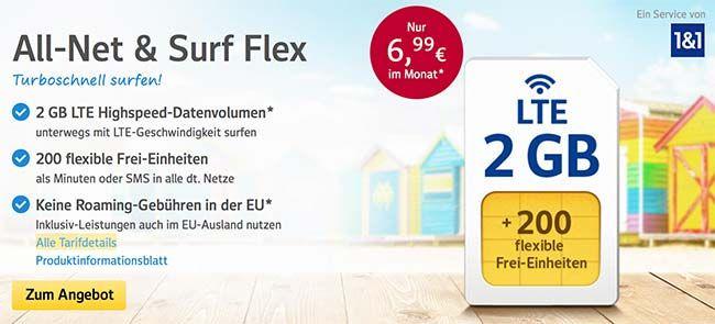 1&1 Tarife ► bis zu 4GB Internet und 400 Frei-Einheiten ab 6,99€ http://www.simdealz.de/o2/1und1-handytarife/
