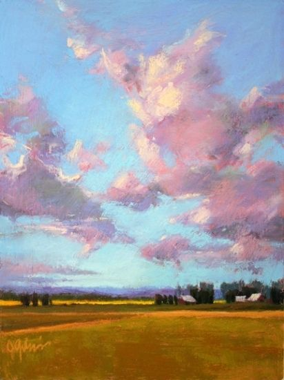Valley Morning by Susan Ogilvie Pastel ~ 16 x 12