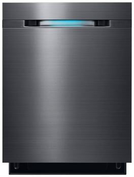 Samsung DW80J7550UG Fully Integrated Dishwasher with 15 Place Setting Capacity, 6 Wash Cycles, WaterWall System, Express 60, Adjustable Upper Rack, Zone Boosters, NSF Certified, Silence Rating of 44 dB and Energy Star Rated: Black Stainless Steel