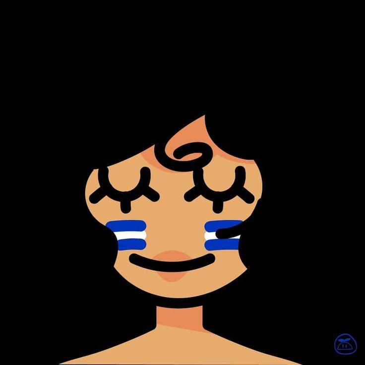 Feliz día de la mujer hondureña  . . . . . #diadelamujer #mujer #woman #diadelamujerhondureña #painting #painttoolsai #sai #character #sketch #icon #draw #drawing #cute #jenchibi #wacom #portraits...