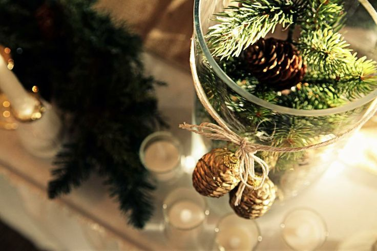 Holiday in the Forest: A DIY Tablescape Perfect for A Winter Wedding
