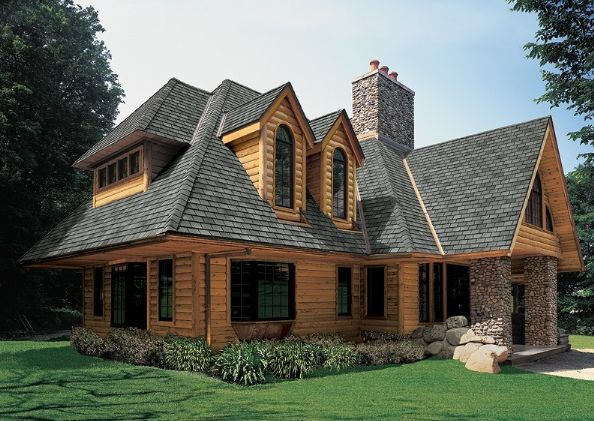 european roof with shingles - Google Search