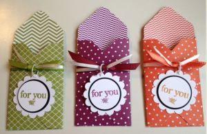 Envelope Treat Pockets Angie Juda