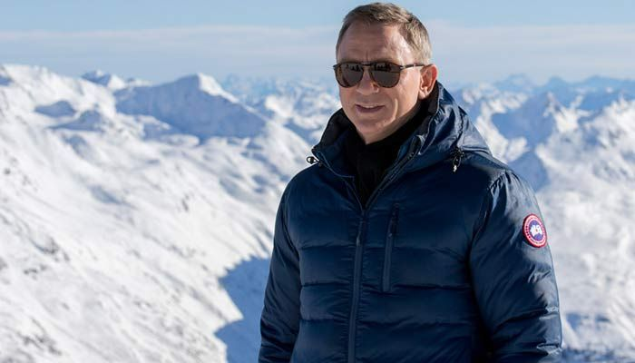 Canada Goose montebello parka sale price - Daniel Craig wearing the Canada Goose Lodge jacket during the ...