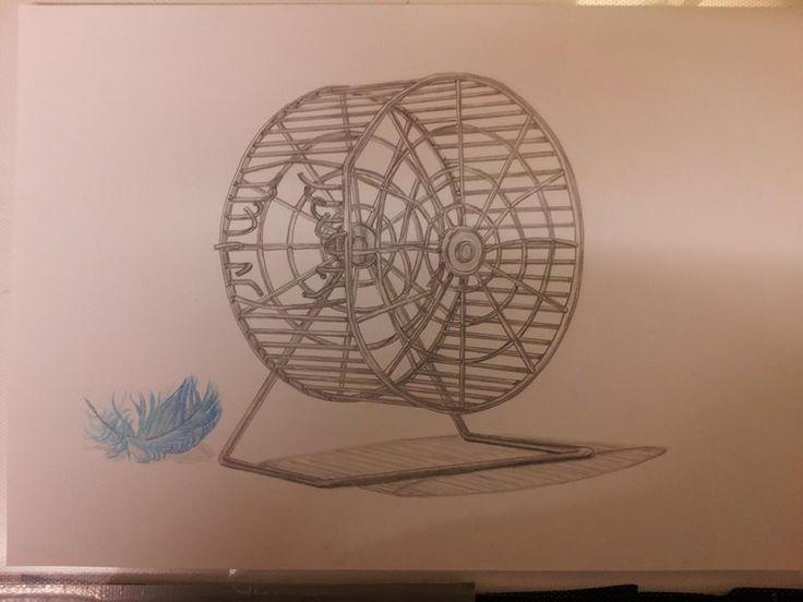 En bild jag ritat till min bror Krille.
