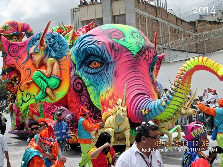 """ENTRAR A """"CARNAVAL DE PASTO, COLOMBIA"""" → https://www.pinterest.com/arturcoral/carnaval-de-pasto-colombia/ (Foto: Carnaval de Negros y Blancos de San Juan de Pasto, Nariño, Colombia. 6 ene 2014. Foto: Cortesía de Ruth Estrada Tobar, para IPITIMES.COM /Artur Coral /New York)."""
