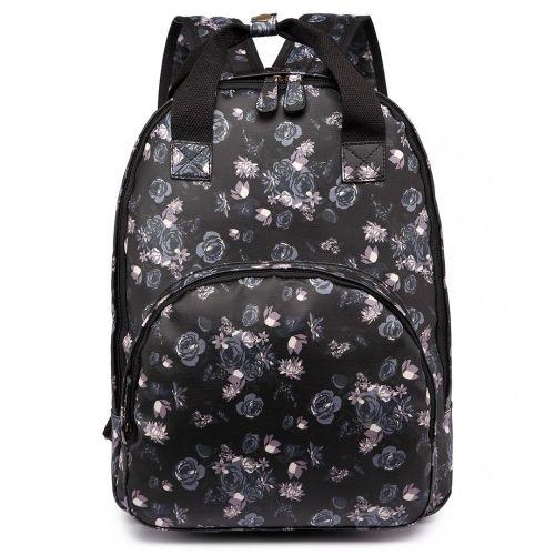 Dámský černofialový batoh Sakura 1658F - Svět shopaholiků