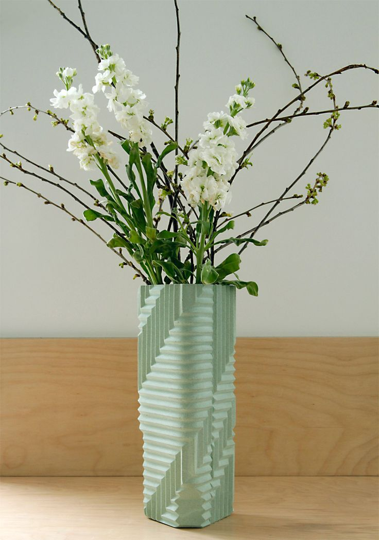 Herringbone vase by Phil Cuttance
