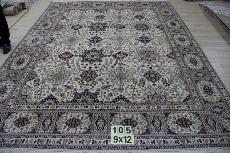 No.23912805, Handmade Silk Carpet. Kpsi 367, Density 230 lines. Size 9'x12' (274cm x 365cm). Real silk, Pure hand-made Origin: Henan China, Zhengzhou Yile Carpet Company. www.ylrug.com, info@ylrug.com, ylrug@126.com.+86-13849180658