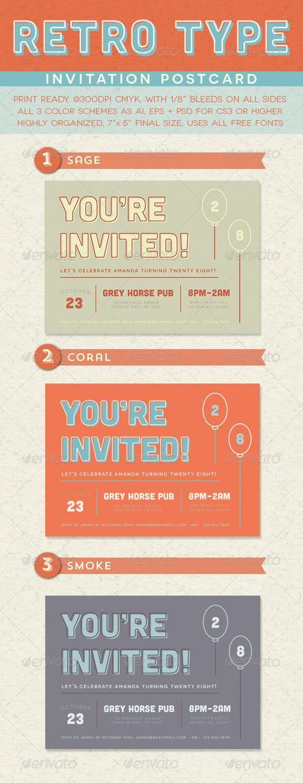 440 besten Cards - Invites Design Print Templates Bilder auf ...