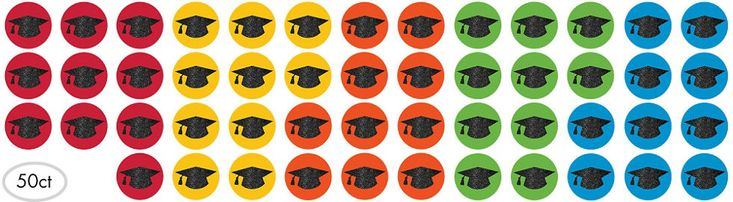 Colorful Brights Graduation Party Supplies - Party City Canada