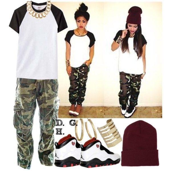 """She don't f*ck with them cuz those other n*ggas basic!"", created by dopegenhope on Polyvore"