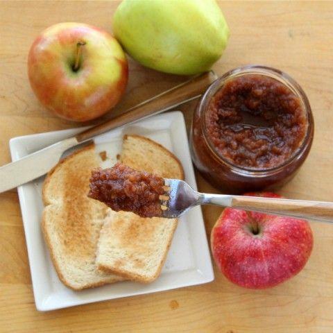 Slow Cooker Apple Butter | Spiced Crock-Pot Apple Butter Recipe | ShockinglyDelicious.com