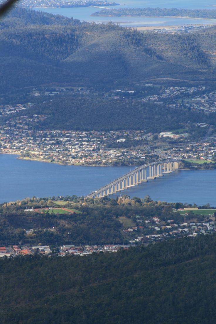 View from Mt Wellington Hobart, Tasmania- Australia #City_Edge_Apartment_Hotels   #Cityedge    http://www.cityedge.com.au