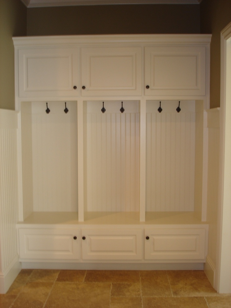 Amish built cabinets for mudroom mudroom pinterest for Amish made kitchen cabinets
