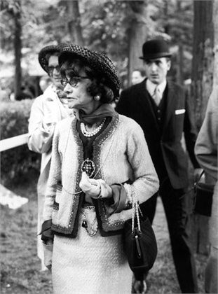 1964 - Coco Chanel at Chantilly