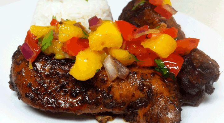 Pollo Jerk #receta para impactar en cualquier barbacoa a base de ritmo gastronómico