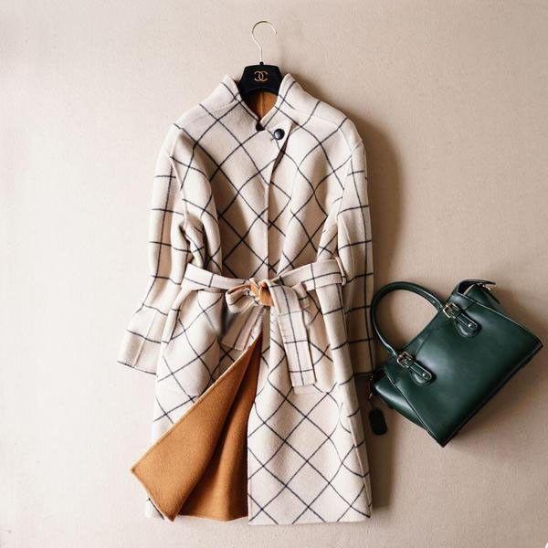 Светлое женское пальто молодежное в интернет-магазине Шопоголик