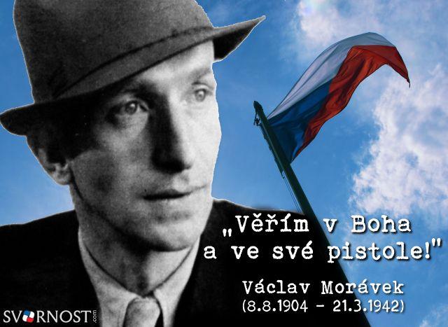 Dne 21. března 1942 při přestřelce s gestapáky v parčíku u Prašného mostu v Praze, padl národní hrdina Československého protinacistického odboje, štábní kapitán - Václav #Morávek.  #vlastenec #patriot