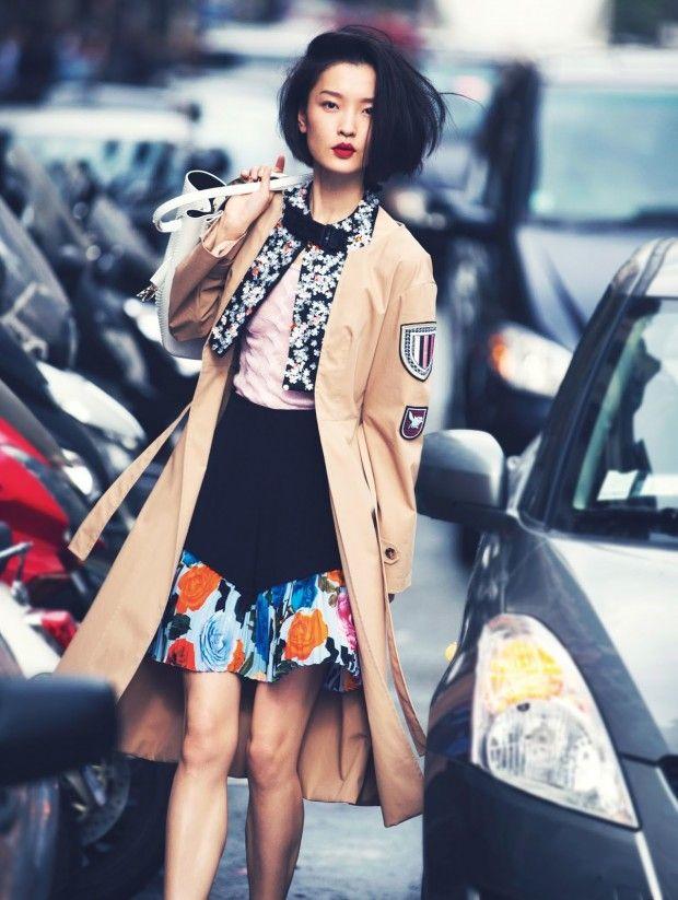 awesome Vogue China Fevereiro 2014 | Du Juan por David Bellemere [Editorial]