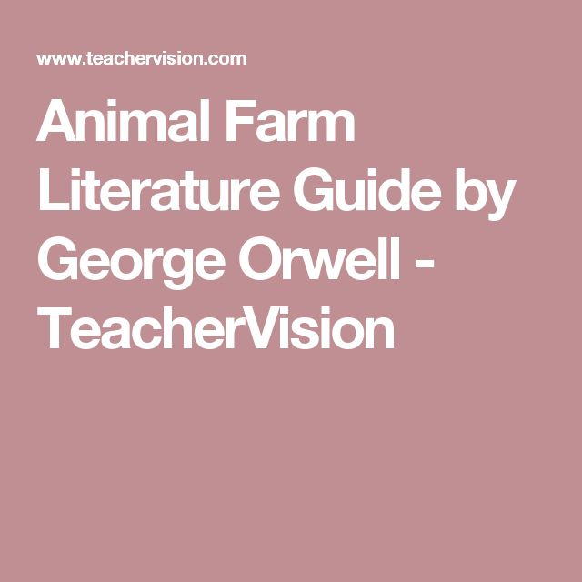 George orwell writing style