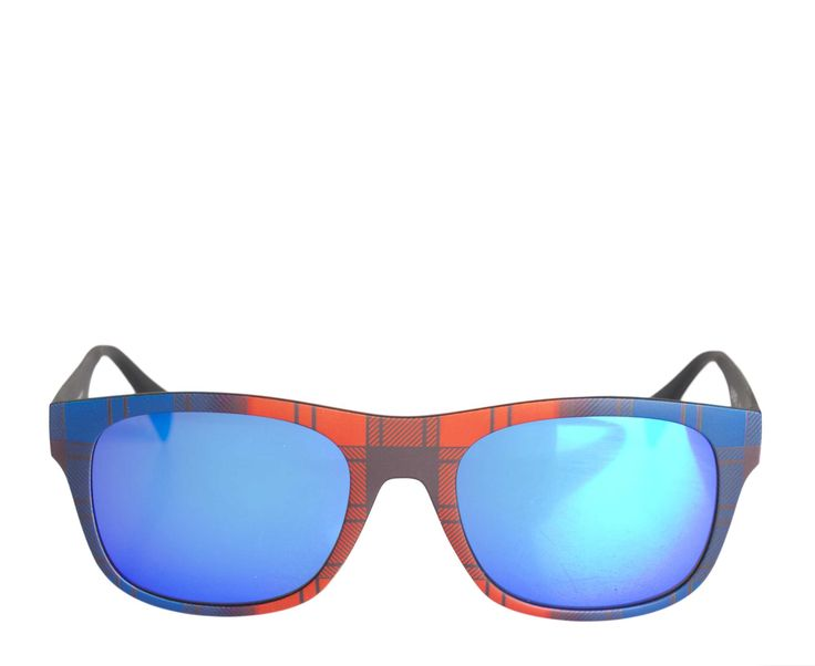 Eyeye - Italia Independent Sunglasses ISO00 Tartan Red at www.themintcompany.com