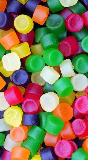 Jujubes...i carry some of these when I'm running for when I need a sugar boost.