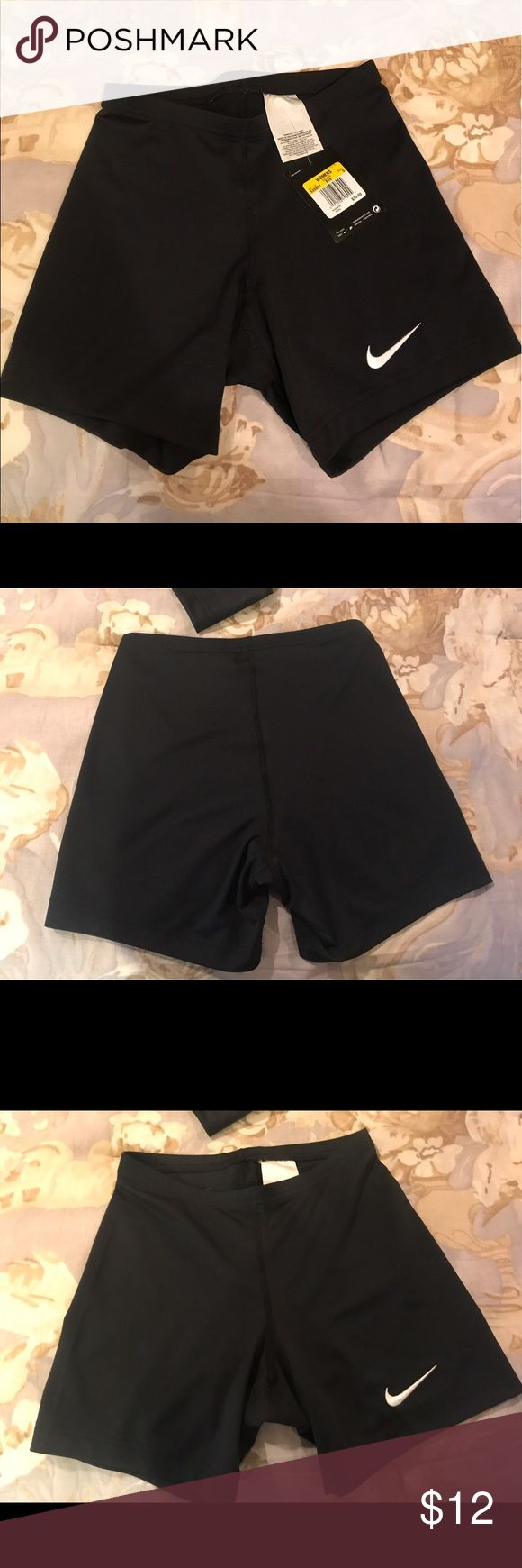 Black Womens Nike Volleyball sliders 2 pairs of women's Nike Volleyball Spanx. 1 pair New with Tag. The other pair is new the tag just got ripped off.  Black. Size AS Nike Other