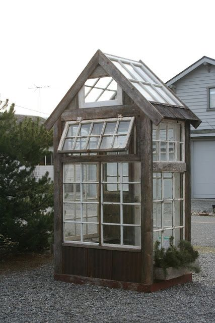 salvage material greenhouses