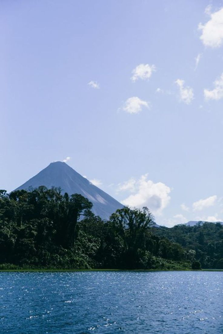 Lake Arenal, Guanacaste Province, Costa Rica - How amazing would it be to kayak here?!