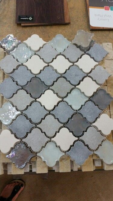 Glass moraccan tiles