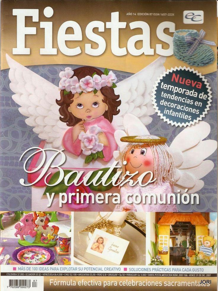revista de manualidades bautizo y primera comunión