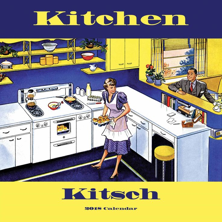Kitchen Kitsch Calendar 2018