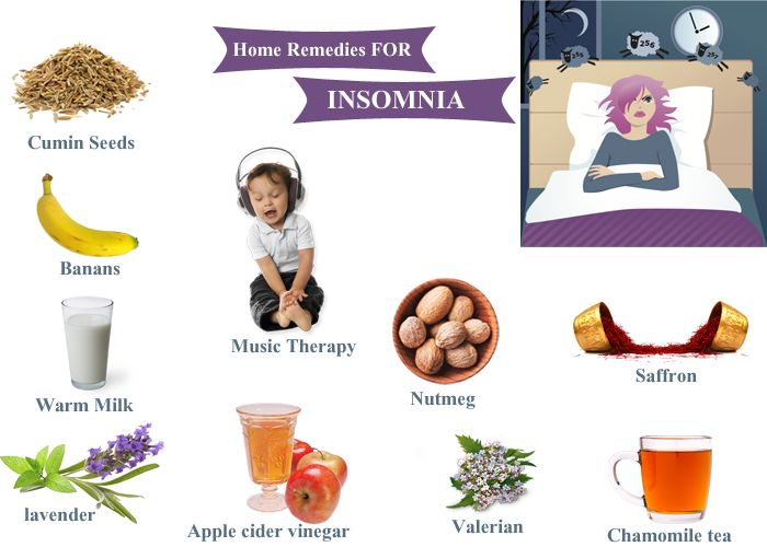 insomnia home remedies