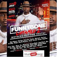 """Happen Live On 9 July Is """"FunnyBone Untamed 2 """" Comedy Show      FunnyBone Untamed 2 - Nothing but the Truth...live at Eko Hotel and suites on the 9th of July 2017 Comedy By: Okey Bakassi I Go Save Helen Paul Senator Woli Arole Seyi Law Mc Abbey Mimiko Dan Da Humorous Buchi Mr Jollof Osama Omobaba  Music By: 2baba Tekno Phyno 9ice Wande Coal Duncan Mighty Small Doctor Kcee Harrysong Solid Star Humble Smith Skales Koker Reekado Banks Raw CdqVector Zoro Sexy Steel Saeon Okiemute Date: July 9th…"""